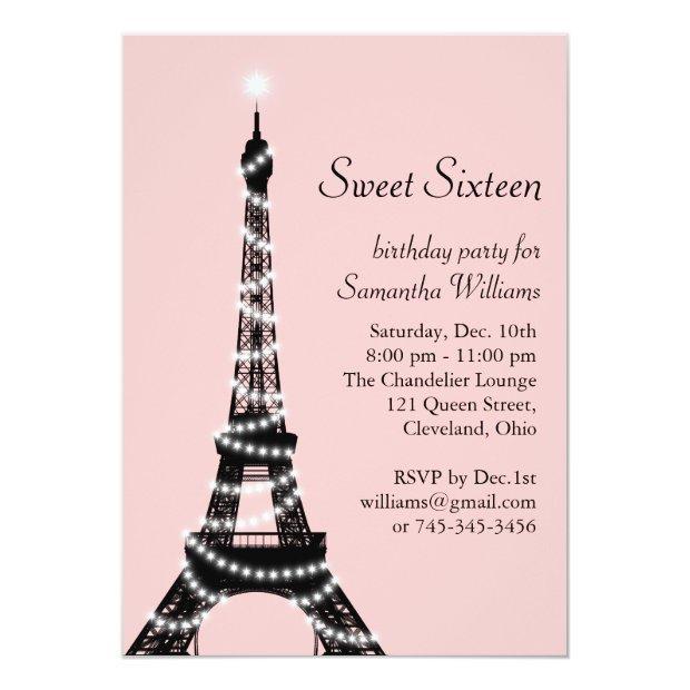 Sweet Sixteen Eiffel Tower