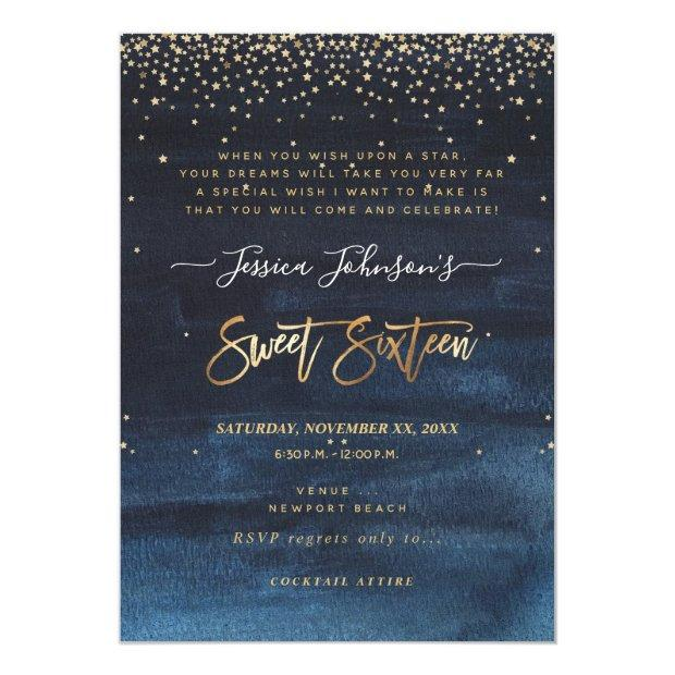 Sweet Sixteen, Written In The Stars Save The Date