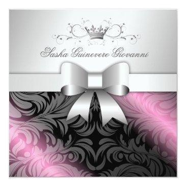311-sweet molasses   bow sweet 16 invitation
