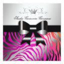 311-zebra shimmer wild sunset kisses   sweet 16 invitations