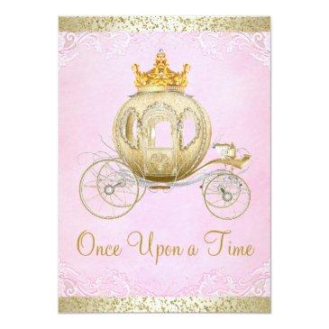 Small Cinderella Pink Once Upon A Time Princess Birthday Front View
