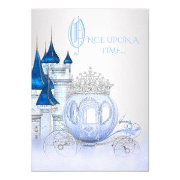 cinderella princess birthday invitation
