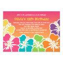 colorful hibiscus birthday  any age