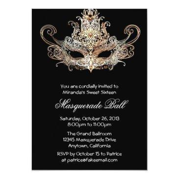 custom sweet sixteen masquerade ball