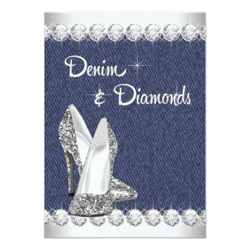 Small Denim And Diamonds Birthday Party Front View