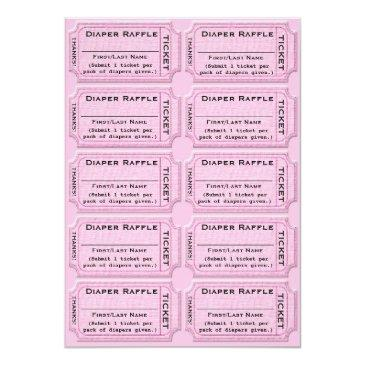 diaper raffle tickets cute baby shower