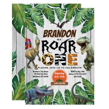 dinosaur 1st birthday  roar one jurassic