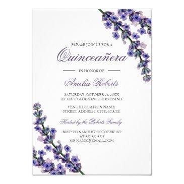 elegant purple lavender quinceanera
