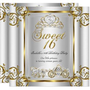 fairytale sweet 16 16th birthday gold silver 3