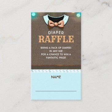 fall diaper raffle ticket enclosure invitations