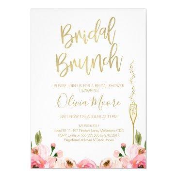 floral bridal brunch bridal shower
