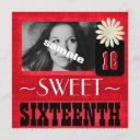 fun sweet sixteenth party for country girls invitation