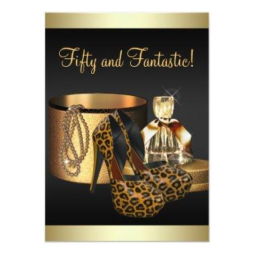 high heel shoes leopard gold womans birthday
