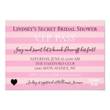 love pink lingerie bridal shower party
