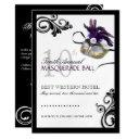 masquerade invitation