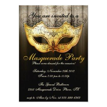 masquerade party celebration fancy gold