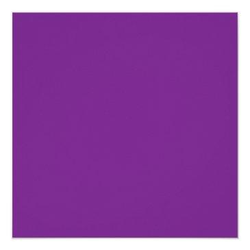 Small Modern Purple Chandelier Sweet Sixteen Birthday Invitations Back View