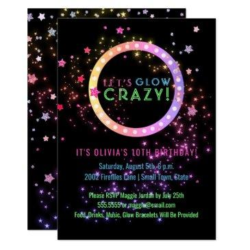 neon glow in the dark party | kids birthday