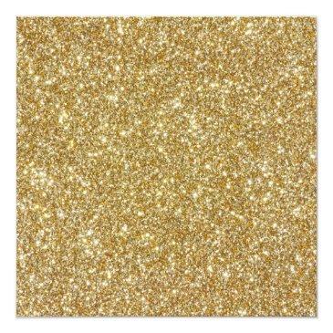 Small Night In Paris Glitter Sweet 16 Custom Invitation Back View