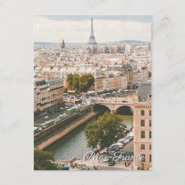 paris france eiffel tower seine travel postinvitations