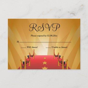 red carpet hollywood star bat mitzvah rsvp