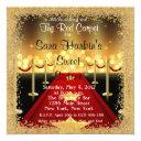 red carpet hollywood sweet 16 birthday invite