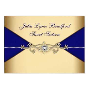 royal blue gold sweet sixteen