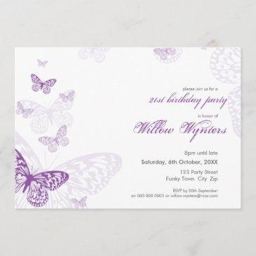 special event invites :: butterflies 3l