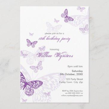 special event invites :: butterflies 3p