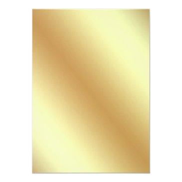 Small Star Confetti Gold Foil Eiffel Tower Sweet Sixteen Invitation Back View