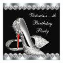 womans elegant black birthday party